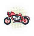 classic retro motorcycle this is great vector image