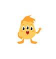 cute little monster cartoon character flat vector image vector image