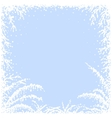 Frozen window vector image