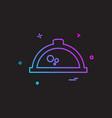 hot pot icon design vector image
