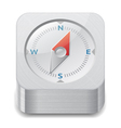 Icon for compass vector image vector image