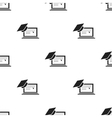 Laptop icon black Single education icon from the vector image vector image