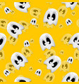 seamless texture ghost vector image vector image
