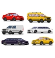 Stylish Retro Car vector image vector image