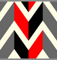 the pattern in which red black and gray lines vector image vector image