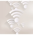 Wireless web icon vector image vector image