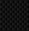 black background seamless pattern vector image