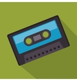 cassette record music sound design vector image vector image