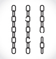 Chains vector image vector image