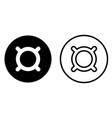 generic currency symbol symbol icon vector image vector image