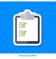 Icon of pad for paper vector image vector image