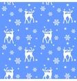 reindeers in forest vector image vector image