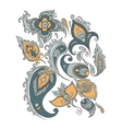 Paisley ornament background vector image
