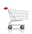 Shop cart vector image