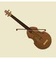 calssic violin music instrument design icon vector image