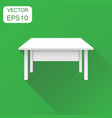 3d table for object presentation icon business vector image vector image