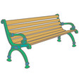 bench vector image vector image