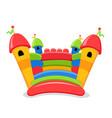 bouncy castle vector image vector image