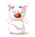funny cute cat vector image