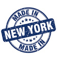 made in New York vector image vector image