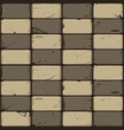 texture of brown stone tiles seamless background vector image