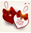 Valentines heart labels vector | Price: 1 Credit (USD $1)
