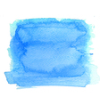 Abstract watercolor hand paint blue texture vector image vector image