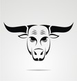 Cow Head Tribal vector image vector image