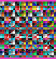 geometric color abstract pattern for your design vector image