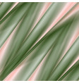 green and pink smooth stripes abstract background vector image vector image