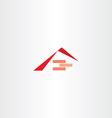 house construction robrick logo vector image