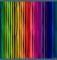 rainbow striped seamless pattern grunge repeating vector image vector image