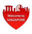 SingaporeW vector image