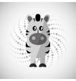 Animal design cartoon icon Isolated vector image