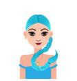 astrology symbol zodiac sign scorpio in doodle vector image vector image