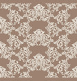 baroque pattern decor for invitation wedding vector image