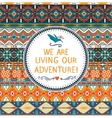hipster seamless colorful tribal pattern vector image vector image