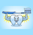 tooth is in excellent condition vector image vector image