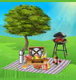bbq realistic vector image vector image