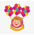happy child image vector image
