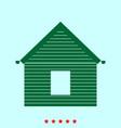 siding front set it is color icon vector image