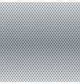 Silver metallic round grid background vector image