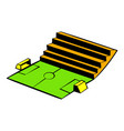 soccer stadium icon icon cartoon vector image vector image