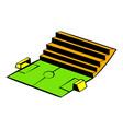 soccer stadium icon icon cartoon vector image vector image