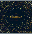 stylish glitter background for merry christmas vector image vector image