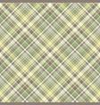 tartan plaid fabric texture seamless pattern vector image vector image