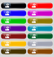 Wi fi router icon sign Big set of 16 colorful vector image