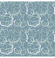 abstract seamless pattern blue vector image vector image