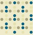 circle grid geometric seamless pattern vector image