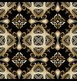 greek floral seamless pattern ornamental vector image vector image